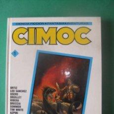 Tebeos: CIMOC TOMO RETAPADO Nº 1 NORMA EDITORIAL. Lote 278809413