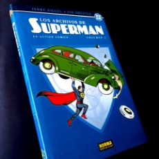 Tebeos: DE KIOSCO LOS ARCHIVOS DE SUPERMAN EN ACTION COMICS VOLUMEN 1 EDICIONES DE ARCHIVO DC PLANETA. Lote 286623898