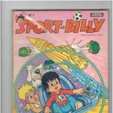 Tebeos: ARCHIVO * SPORT BILLY * Nº 1 * EDICIONES RECREATIVAS 1980 *. Lote 286737153