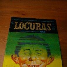 Tebeos: LOCURAS Nº 1 AÑO 1975 VERSION CELTIBERICA DE MAD. Lote 286911413