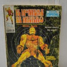 Tebeos: COMIC-EL HOMBRE DE HIERRO-EL INVENCIBLE HOMBRE DE HIERRO- NÚMERO 1 VÉRTICE 1969. Lote 288308773