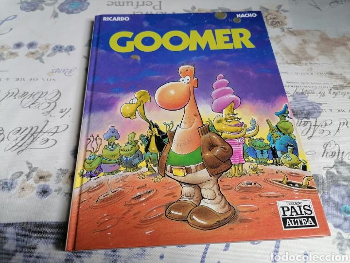 PRIMER CÓMIC DE GOOMER .PEQUEÑO PAÍS ALTEA AÑO 1990 (Tebeos y Cómics - Números 1)