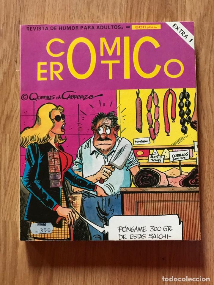 COMIC EROTICO EXTRA Nº 1 INCLUIDOS DEL 1 AL 4 AÑO 1988 BUEN ESTADO (Tebeos y Cómics - Números 1)