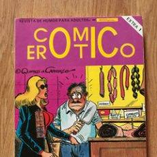 Tebeos: COMIC EROTICO EXTRA Nº 1 INCLUIDOS DEL 1 AL 4 AÑO 1988 BUEN ESTADO. Lote 288930668
