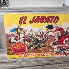 Tebeos: EL JABATO 1 ESCLAVOS DE ROMA,. Lote 288963418