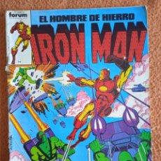 Giornalini: IRON MAN EL HOMBRE DE HIERRO VOL 1 NUMERO 1 FORUM. Lote 290941583