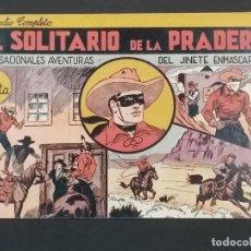 Giornalini: Nº 1,EL JINETE ENMASCARADO, EL SOLITARIO DE LA PRADERA. ED HISPANO AMERICANA.1943, MUY BUENO. Lote 292140503