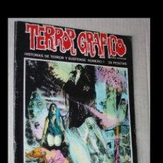 Tebeos: TERROR GRAFICO (1972, URSUS) 1 · 1973 · TERROR GRAFICO. Lote 294092143