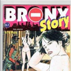 Tebeos: * PAUL GILLON * BRONY STORY Nº 1. LA SUPERVIVIENTE * EDITORIAL NEW COMIC *. Lote 294104628