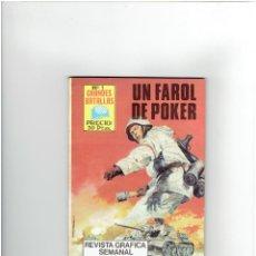 Tebeos: * GRANDES BATALLAS NUMERO 1 * UN FAROL DE POKER * REVISTA GRAFICA EDITORIAL ANTALBE 1981 *. Lote 294111338