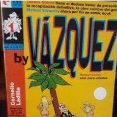 Tebeos: TEBEO GLENAT BY VAZQUEZ.Nº 1. Lote 295623738