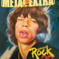 Tebeos: METAL EXTRA. ESPECIAL Nº 1 . ESPECIAL HOLLYWOOD..Y ,N° 2. ESPECIAL ROCK 82... Lote 295626203