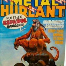Tebeos: METAL HURLANT.. Nº1. NUEVA FRONTERA.1981. Lote 295630753