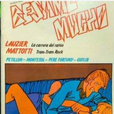 Tebeos: BESAME MUCHO. NÚMERO 1..LAUZIER Y MATTOTTI...AÑO 1980.. Lote 295686058