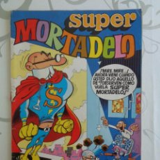 Tebeos: SUPER MORTADELO Nº 1 --- INCLUYE AVENTURA DE SUPERNOVA Y DE SIR TIM O'THEO DE RAF. Lote 296775618