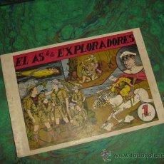 Tebeos Números 1: EL AS DE LOS EXPLORADORES (GUERRI) ... Nº 1. Lote 26645775