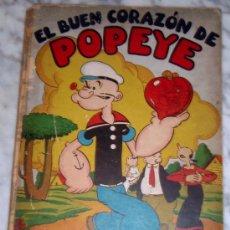 Tebeos Números 1: EL BUEN CORAZON DE POPEYE , ALBUM SEGAR Nº 1 , ORIGINAL, GRAN FORMATO TAPA DURA ,EDITORIAL MOLINO. Lote 24412938