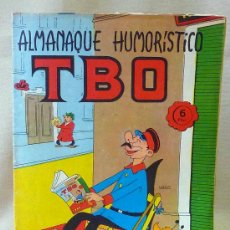 Tebeos Números 1: COMIC, TBO, ALMANAQUE HUMORISTICO, AÑO 1966, EDICIONES TBO, Nº 1. Lote 24113627