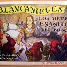 Tebeos Números 1: BLANCANIEVES Y LOS SIETE ENANITOS DEL BOSQUE Nº 1 - EDITORIAL AMELLER, AÑOS 40. Lote 29039713