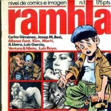 Tebeos Números 1: RAMBLA Nº1. Lote 29501921