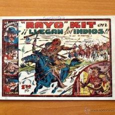 Tebeos Números 1: RAYO KIT - Nº 1 LLEGAN LOS INDIOS - EDITORIAL TORAY 1949. Lote 51062316