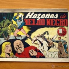 Tebeos Números 1: YELMO NEGRO - Nº 1 HAZAÑAS DE YELMO NEGRO - EDITORIAL TORAY 1947. Lote 51062802