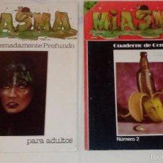 Tebeos Números 1: COMIC MIASMA, NÚMEROS 1 Y 2. 1981. Lote 57223755