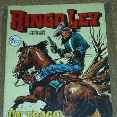 Tebeos Números 1: RINGO LEY - Nº 1 - ORIGINAL - ALONSO. Lote 105326191