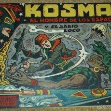 Tebeos Números 1: KOSMAN EL HOMBRE DE LOS ESPACIOS - Nº 1 - ORIGINAL - IRANZO 1960. Lote 57908944