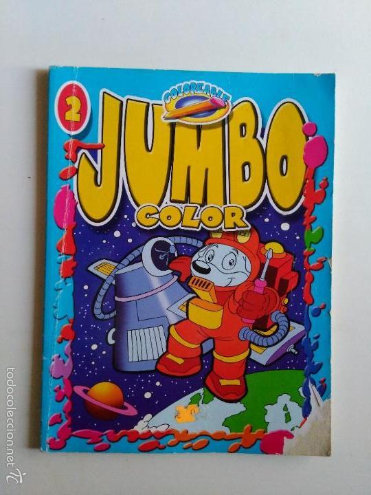 jumbo color nº 1. libro para colorear de susaet - Comprar Tebeos ...