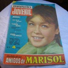 Tebeos Números 1: REVISTA MUNDO JUVENIL LOS AMIGOS DE MARISOL Nº 1 VER FOTOS MIRAR TODOS MIS LOTES DE TEBEOS. Lote 58127644
