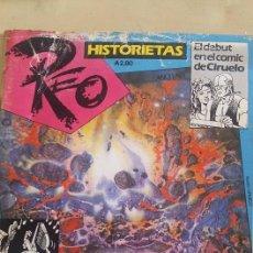 Tebeos Números 1: COLECCIONISTAS-REVISTA REO Nº1 1987-DEBUT EN EL COMIC DE CIRUELO. Lote 58241630