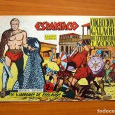 Tebeos Números 1: ESPARTACO Nº 1 - EDITORIAL GALAOR 1964. Lote 66190002