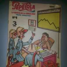 Tebeos Números 1: REVISTA PEPECOLA NO 1 1959 GRAPA ORIGINAL COMPLETO MUY DIFICIL. Lote 76609129