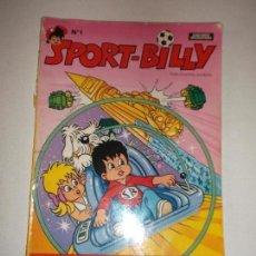 Tebeos Números 1: SPORT-BILLY N 1 EL CHICO DEL PLANETA GEMELO 1980. Lote 88184972