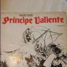 Tebeos Números 1: PRINCIPE VALIENTE, HAROLD FOSTER. EDICIONES B.O. 1978. FASCICULO 1. Lote 95929595
