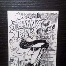 Tebeos Números 1: JOHNNY REB Nº 1 (BILBAO, 1986) MINI FANZINE ORIGINAL 11X7,5 JESSE . Lote 97670499