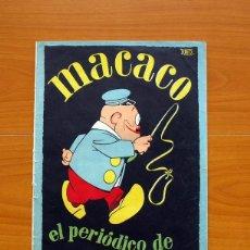 Tebeos Números 1: MACACO, Nº 1, EL PERIÓDICO DE LOS NIÑOS - IMPRENTA RIBADENEYRA 1928 - TAMAÑO 30X20'5. Lote 98867443