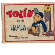 Tebeos Números 1: TOLÍN EN EL HAMPA Nº 1 -EDITORIAL GUERRI 1948- ORIGINAL. Lote 105675143
