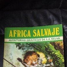 Tebeos Números 1: AFRICA SALVAJE. Lote 105998451