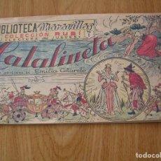 Tebeos Números 1: COMICS, CATALINETA, Nº 1, BIBLIOTECA MARAVILLAS, COLECCION RUBI . Lote 113097943