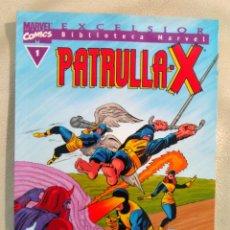 Tebeos Números 1: PATRULLA X 1 BIBLIOTECA MARVEL . Lote 113225951