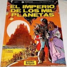 Tebeos Números 1: EL IMPERIO DE LOS MIL PLANETAS Nº1; J.C. MEZIERES, P. CHRISTIN - GRIJALBO / DARGAUD 1990. Lote 113275259