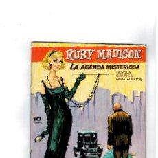 Tebeos Números 1: COLECCIÓN LUPA Nº 1 -RUBY MADISON- EDICIONES MORAN 1965.. Lote 118292767