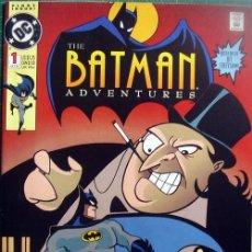 Tebeos Números 1: BATMAN ADVENTURES 1 DC OCTOBER 1992 TEMPLETON FIRST PRINTING. Lote 118592039