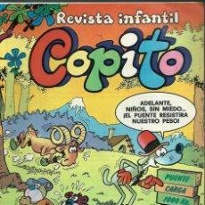 Tebeos Números 1: REVISTA INFANTIL COPITO Nº 0 - BRUGUERA - 7 MARZO 1977 - UNICA EN TODOCOLECCION. Lote 125159043