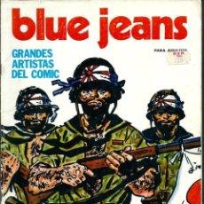 Tebeos Números 1: BLUE JEANS Nº 1 - ED. NUEVA FRONTERA 1977 - CON HUGO PRATT, ALBERTO BRECCIA, MOEBIUS, SEGAR, HE, ETC. Lote 131061720