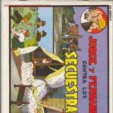 Tebeos: JORGE Y FERNANDO - Nº 2 - 1989 EDITADO POR: EDITORIAL COMPLOT. Lote 27486626