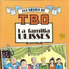 Tebeos: ELS ARXIUS DE TBO Nº 1: LA FAMILIA ULISSES´.BARCELONA : ED.B, 1990. 30 X 22 CM. 48 P.. Lote 9557563