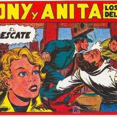 Tebeos: TONY Y ANITA Nº 8. Lote 27412081